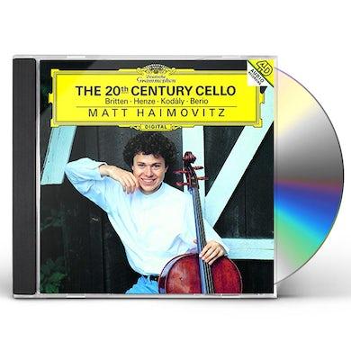 Matt Haimovitz 20TH CENTURY CELLO CD