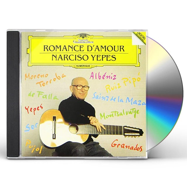 Narciso Yepes ROMANCE D'AMOUR CD