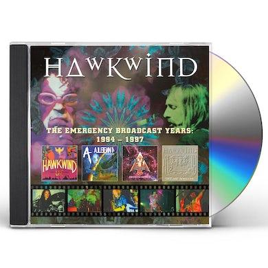Hawkwind EMERGENCY BROADCAST YEARS 1994-1997 CD