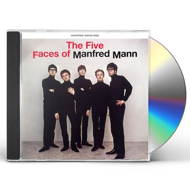 THE FIVE FACES OF MANFRED MANN CD
