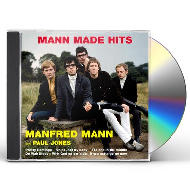 Manfred Mann MANN MADE HITS CD