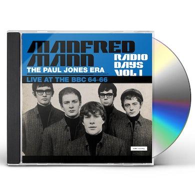 Manfred Mann  RADIO DAYS VOL. 1: LIVE AT THE BBC 1964 66 CD