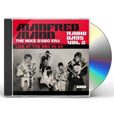 Manfred Mann  RADIO DAYS VOL. 2: LIVE AT THE BBC 1966-69 CD