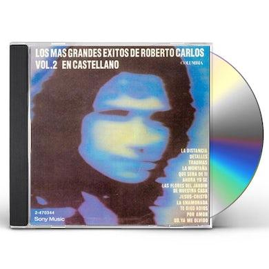 Roberto Carlos GRANDES EXITOS EN CASTELLANO CD