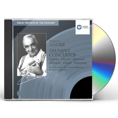 Maurice Andre TRUMPET CONCERTOS CD