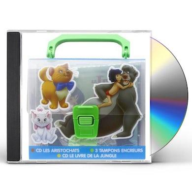 VALISETTE CLASSIQUES DISNEY/ARISTOCATS/JUNGLE BOOK CD