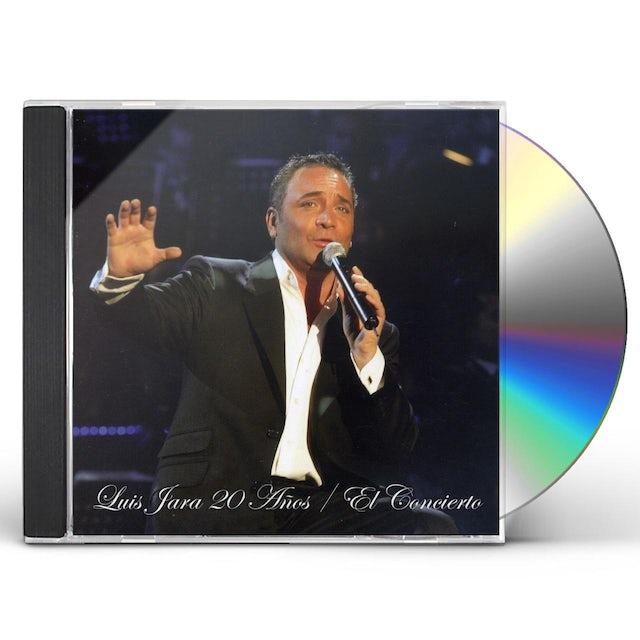 Luis Jara 20 ANOS: EL CONCIERTO CD
