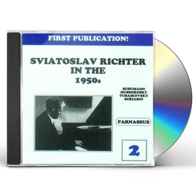 Sviatoslav Richter IN THE 1950S VOL. 2 CD