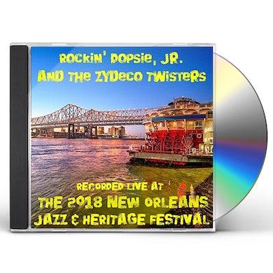 Rockin Dopsie LIVE AT JAZZFEST 2018 CD