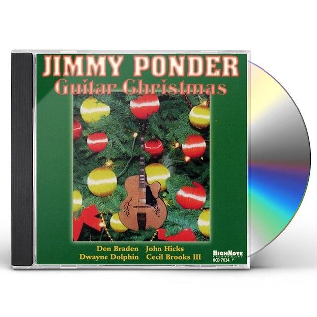 Jimmy Ponder GUITAR CHRISTMAS CD