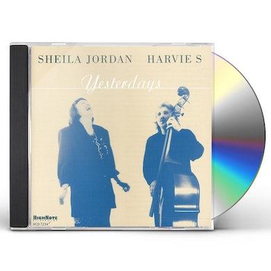 Sheila Jordan YESTERDAYS CD