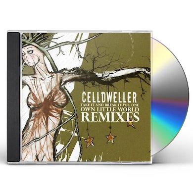 Celldweller TAKE IT & BREAK IT 1: OWN LITTLE WORLD REMIXES CD