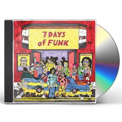 7 Days Of Funk CD