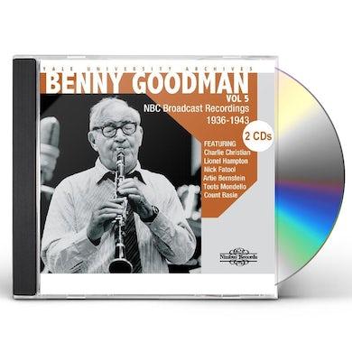 Benny Goodman YALE UNIVERSITY ARCHIVES 5 CD