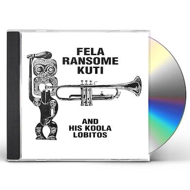 Fela Ransome Kuti & His Koola Lobitos HIGHLIFE-JAZZ & AFRO-SOUL (1963-1969) CD