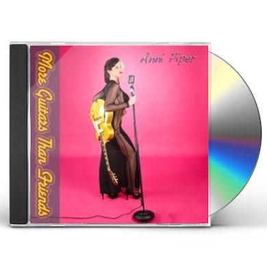 Anni Piper MORE GUITARS THAN FRIENDS CD