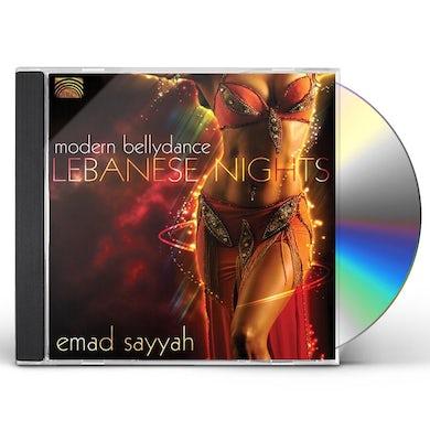 Emad Sayyah LEBANESE NIGHTS: MODERN BELLYDANCE CD