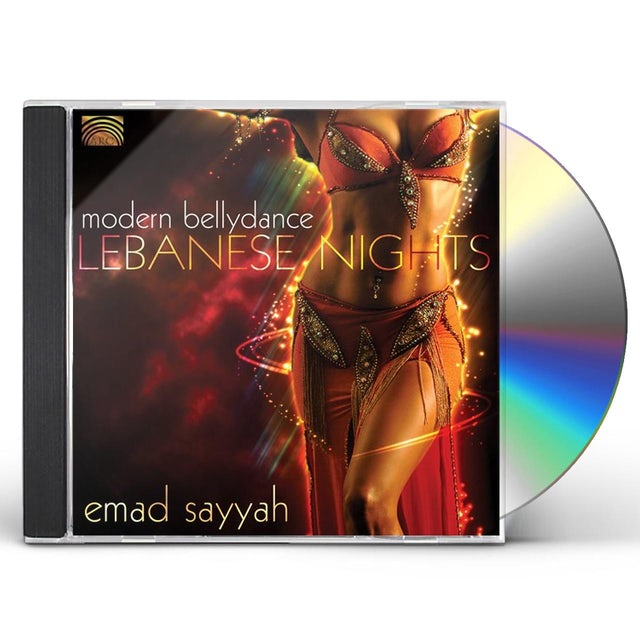 Emad Sayyah LEBANESE NIGHTS: MODERN BELLYDANCE CD
