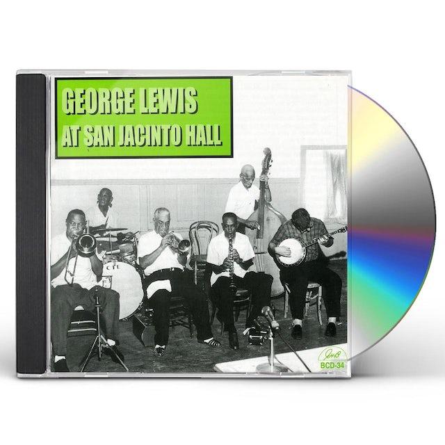 George Lewis AT SAN JACINTO HALL CD