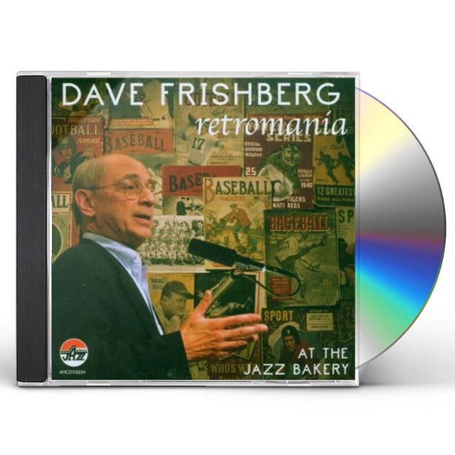 Dave Frishberg RETROMANIA: AT THE JAZZ BAKERY CD