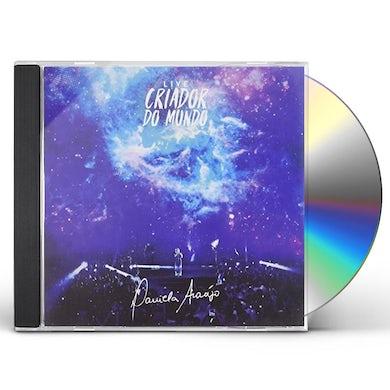 DANIELA ARAUJO CRIADOR DO MUNDO: AO VIVO CD