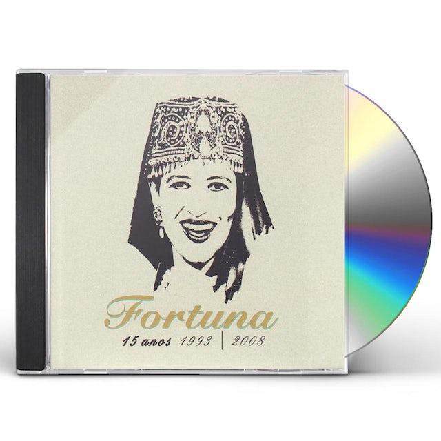 Fortuna 15 ANOS: 1993 - 2008 CD