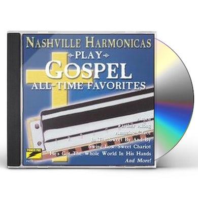 Nashville Harmonicas PLAY GOSPEL ALL TIME FAVORITES CD