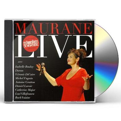 MAURANE LIVE (ET AVEC ARTISTES INVITES) CD