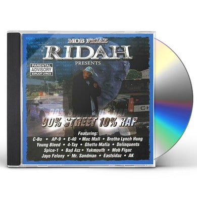 Mob Figaz 90% STREET 10% RAP CD