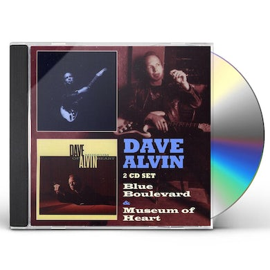 Dave Alvin BLUES BOULEVARD / MUSEUM OF THE HEART CD