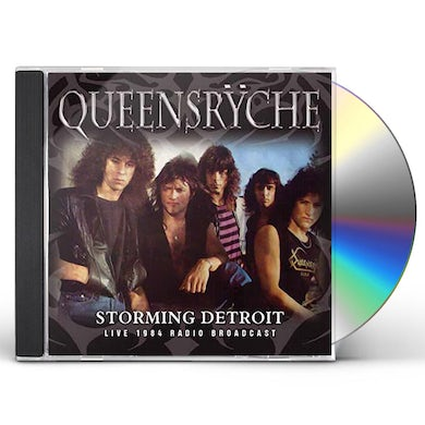Queensrÿche STORMING DETROIT CD