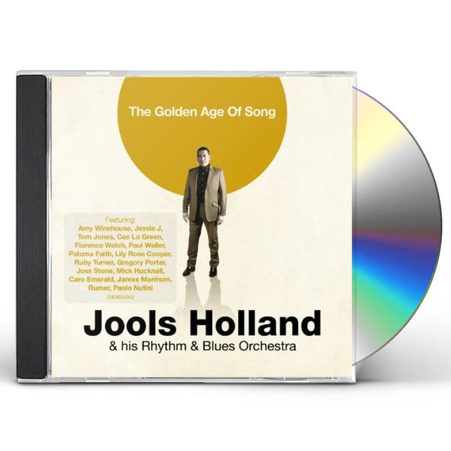 Jools Holland GOLDEN AGE OF SONG CD