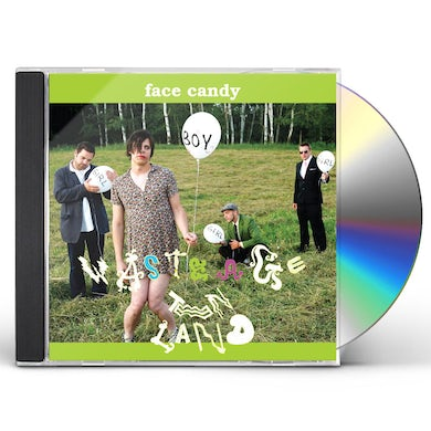Face Candy WASTE AGE TEEN LAND CD