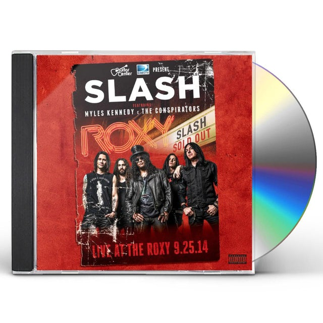 Slash LIVE AT THE ROXY 09.25.14 CD