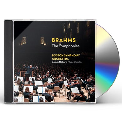 Boston Symphony Orchestra BRAHMS THE SYMPHONIES CD