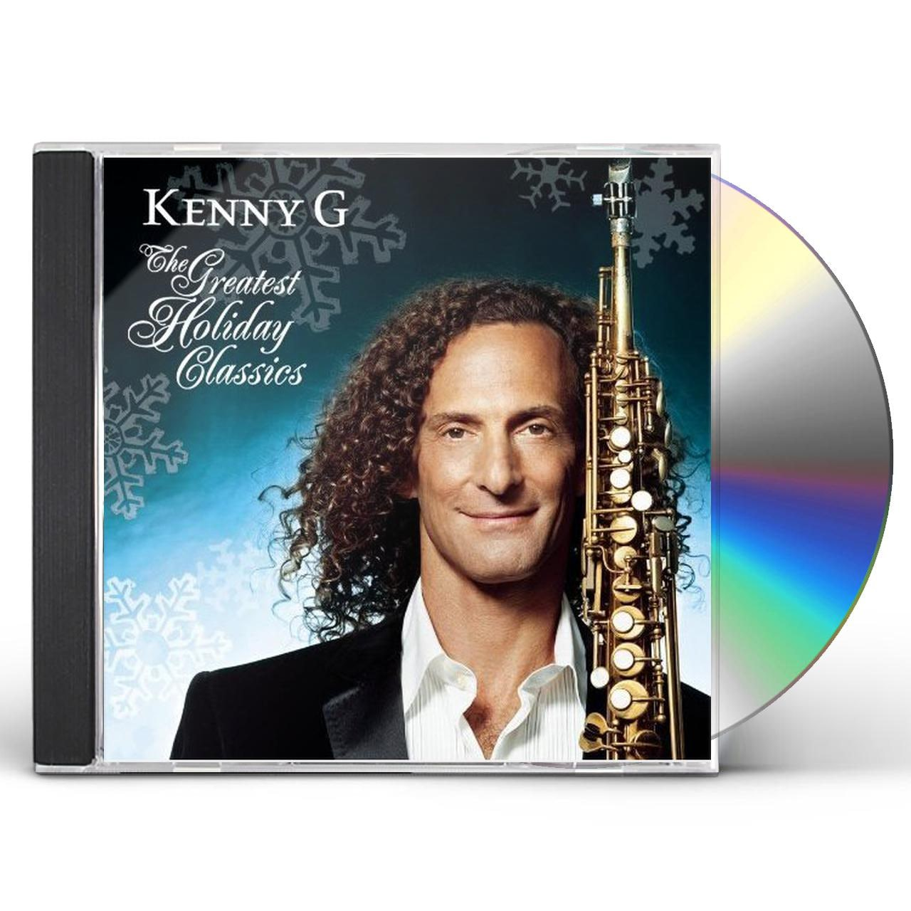 Kenny G Christmas.Kenny G Greatest Holiday Classics Cd