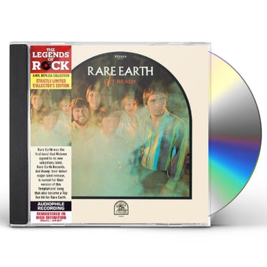 Rare Earth GET READY CD
