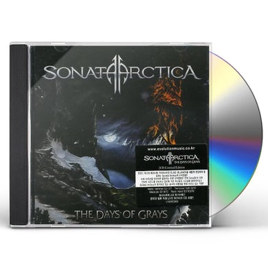 Sonata Arctica DAYS OF GRAYS-SPECIAL EDITION CD