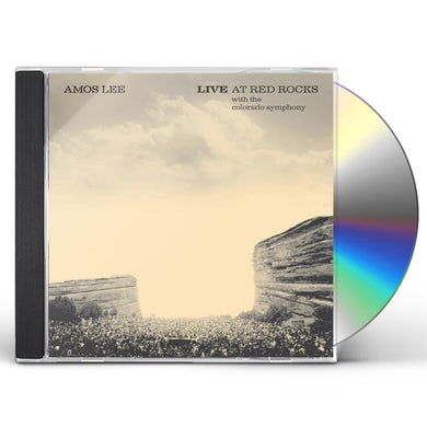 AMOS LEE LIVE AT RED ROCKS WITH COLORADO SYMPHONY CD
