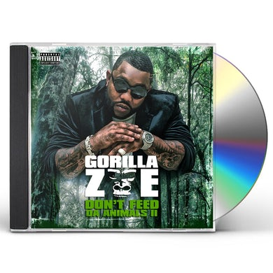 Gorilla Zoe DON'T FEED DA ANIMALS 2 CD