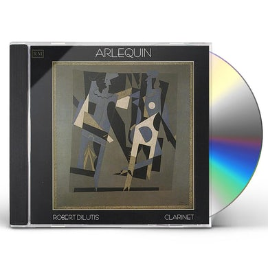 Robert Dilutis ARLEQUIN CD