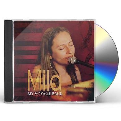 Mila MY VOYAGE BACK CD