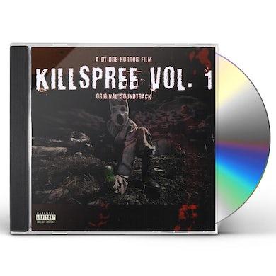 DJ Dre KILLSPREE 1 CD