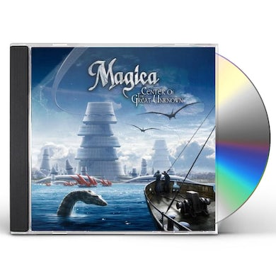 Magica CENTER OF THE GREAT UNKNOWN CD