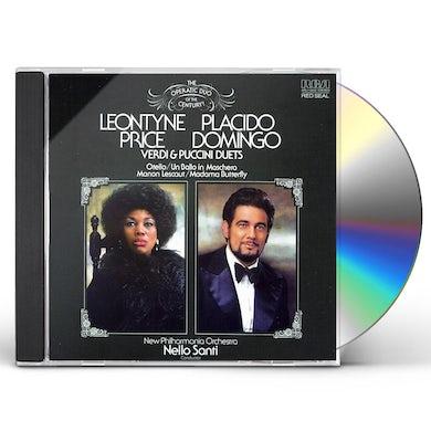 PLACIDO DOMINGO: VERDI & PUCCINI DUETS CD