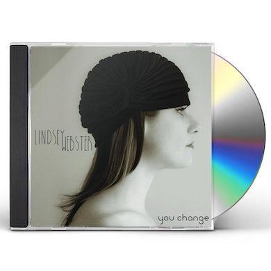 Lindsey Webster YOU CHANGE CD