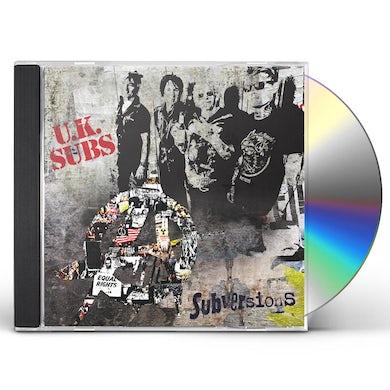 U.K. Subs SUBVERSIONS CD