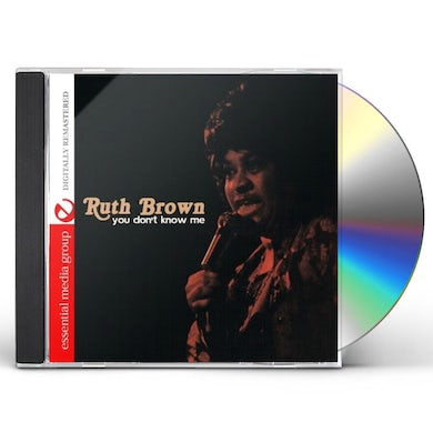 Ruth Brown YOU DON'T KNOW ME CD