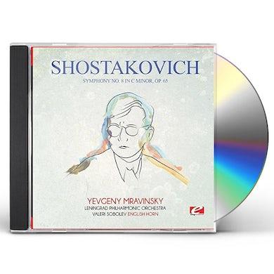 Shostakovich SYMPHONY NO. 8 IN C MINOR OP. 65 CD