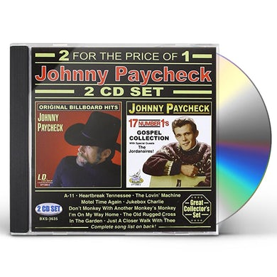 Johnny Paycheck 2 CD SET CD
